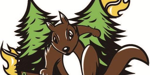 Squirrel A Thon Lodging 8/10/19