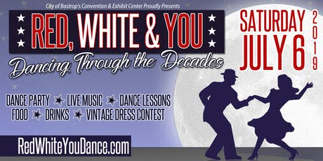 2019 Red, White, & YOU - Dancing Through the Decades  tickets