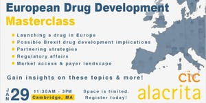 European Drug Development Masterclass