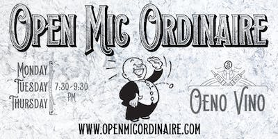 Comedy Event!! Open Mic Ordinaire!!