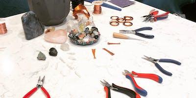 Copper Wire Weaving Art Class