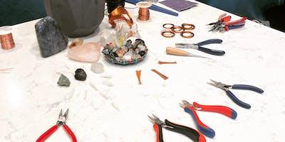 Intro: Copper Wire Weaving Art Class