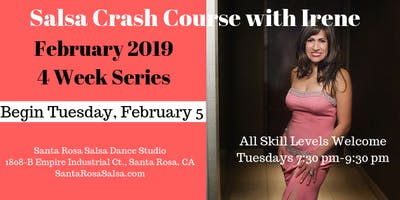 Salsa Crash Course with Irene - February 2019 Series