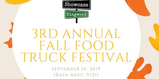 3rd Annual Fall Food Truck Festival by Showcase Kingwood
