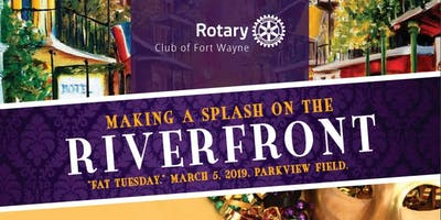 "Rotary's ""Big Easy Feast"" on Fat Tuesday, March 5, 2019!"