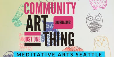 Community Art Journaling: Just One Thing