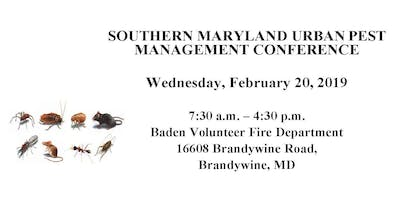 2019 Southern MD Urban Pest Management Conference