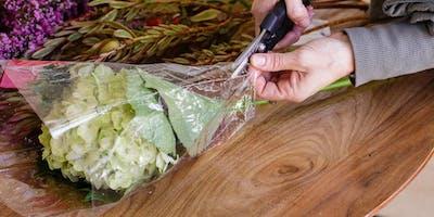 Styling the Supermarket Flower Wrap 3 Ways
