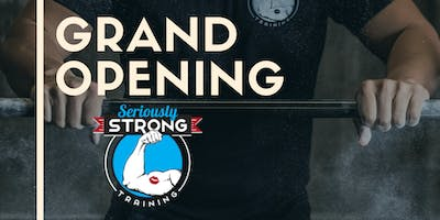 Seriously Strong Training Grand Opening - St Pete Location