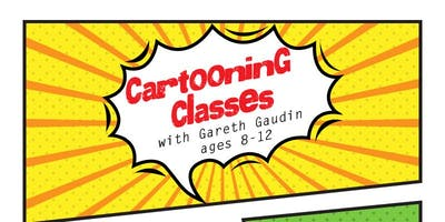 Cartooning Classes with Gareth Gaudin (8-12 years)