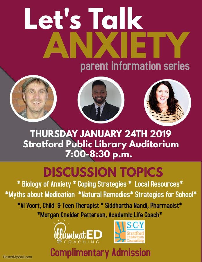 Let's Talk About Anxiety- Parent Information Session