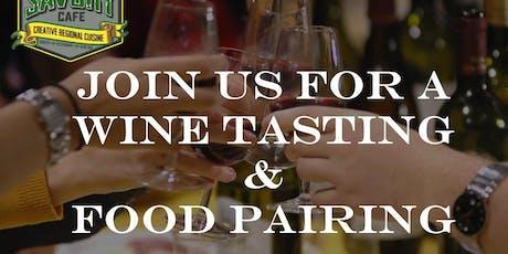 Free Wine Tasting & Optional $25 food pairing - Sweet n Savory Cafe tickets