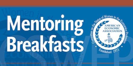 CSWEP 2020 Peer Mentoring Breakfast for Mid-Career Economists tickets
