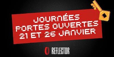 Portes Ouvertes Reflector / Reflector Open House
