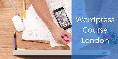 WordPress Training - London tickets