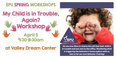 Trouble, Again? Helping Students on IEPs w Difficult Behaviors