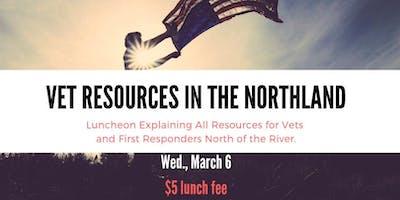 Veteran Resources in the Northland Luncheon
