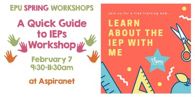 Quick Guide to the IEP