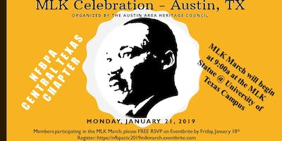 NFBPA Chapter - Martin Luther King March