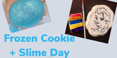 Frozen Cookie + Slime Day
