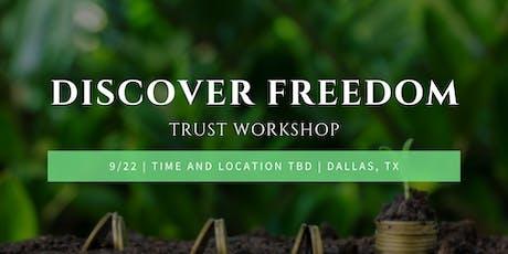 Trust Workshop tickets