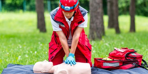 American Red Cross first aid/CPR/AED certification course