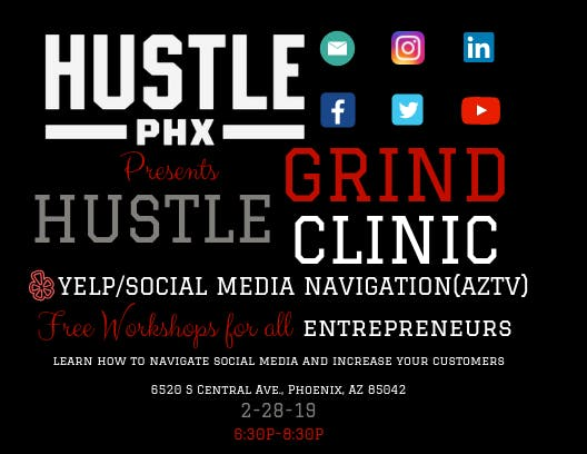 HUSTLE PHX GRIND CLINIC
