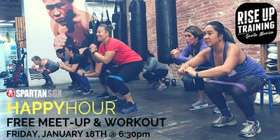 Happy Hour Workout & Meet Up - 1/18/19