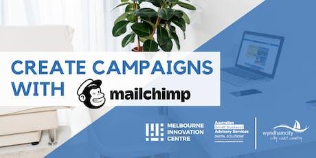 Create Marketing Campaigns with Mailchimp - Wyndham  tickets
