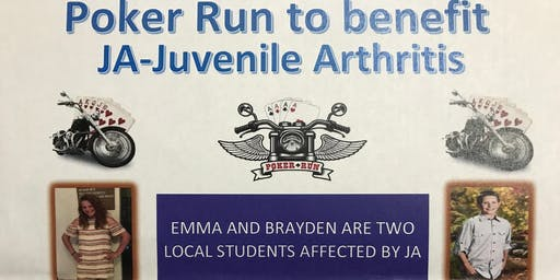 Charity Dinner/Poker Run for Juvenile Arthritis
