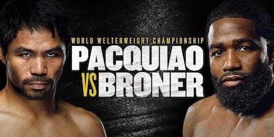 D&B Milpitas, CA - Manny Pacquiao VS Adrien Broner 2019