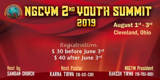 NGCYM 2nd Youth Summit 2019