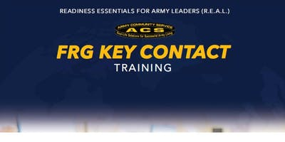 REAL FRG:  Key Contact Training  (HAAF)