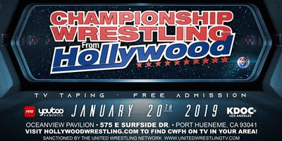 Championship Wrestling from Hollywood / Television Event Sunday Jan 20, 2019