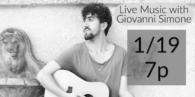 Live Music with Giovanni Simone
