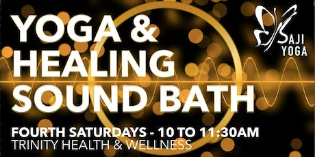 Healing Sound Bath & Yoga Practice tickets