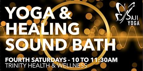 Healing Sound Bath & Yoga Practice tickets