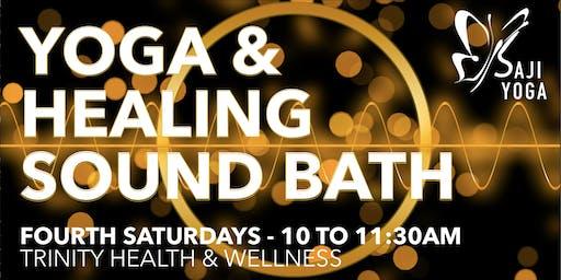 Healing Sound Bath & Yoga Practice