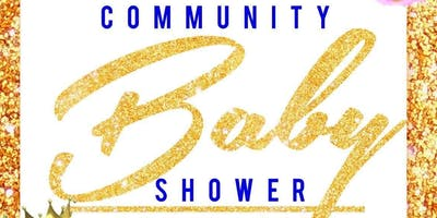 Save The Date Community Baby Shower