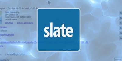 Slate Admissions Recap Workshop for Graduate Program Coordinators