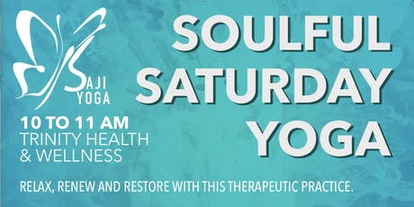 Soulful Saturday Yoga tickets