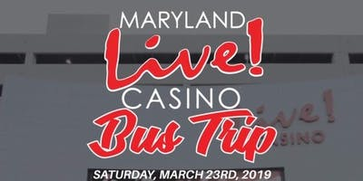 Maryland Live Bus Trip