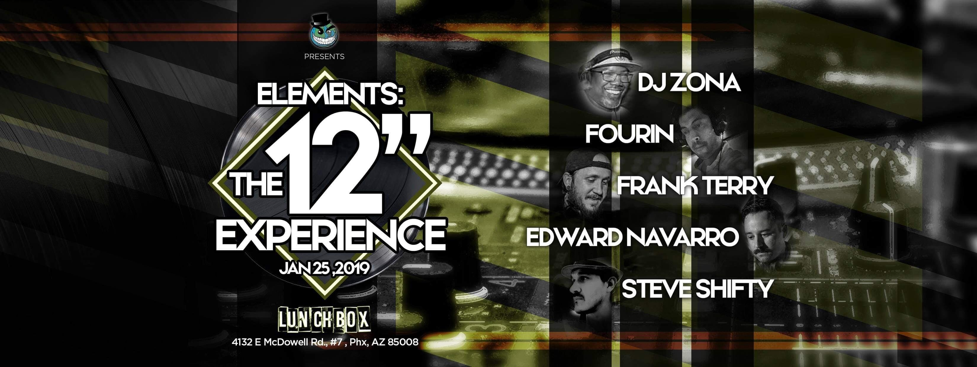 """Elements Presents: The 12"""" Experience"""
