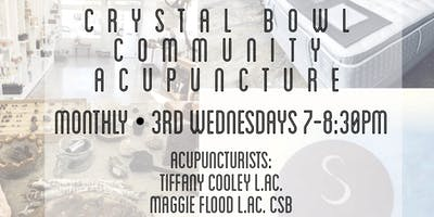 Crystal Bowl Community Acupuncture