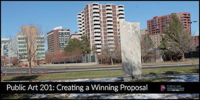 IMAGINE 2020 Workshop Series: Public Art 201, Creating a Winning Proposal