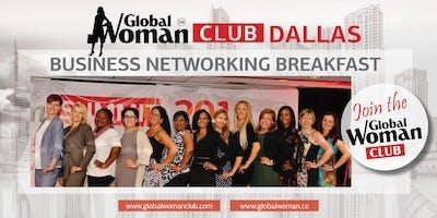 GLOBAL WOMAN CLUB DALLAS: BUSINESS NETWORKING BREAKFAST - JANUARY
