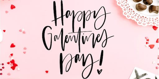 Galentine's Lettering Class