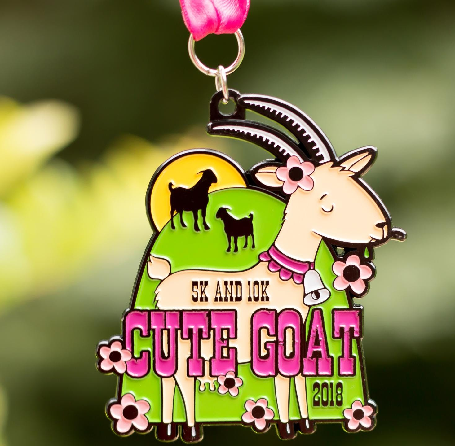 Now Only $10! Cute Goat 5K & 10K - Miami