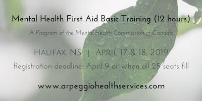 Mental Health First Aid Basic Training - Halifax, NS - April 17 & 18, 2019