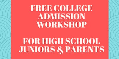Free College Admission Workshops For High School Juniors